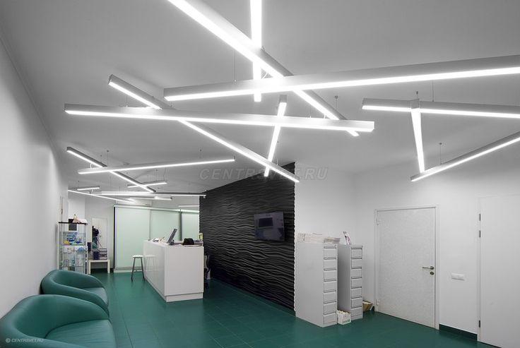 Whether suspended or mounted, #LED lighting can modernize any home or office! #Modern #HomeDecor #BeverlyHills #Centerlight #LA #InteriorDesign #Lighting #Architecture