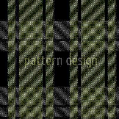 Tartan Blackgreen by Martina Stadler available for download on patterndesigns.com