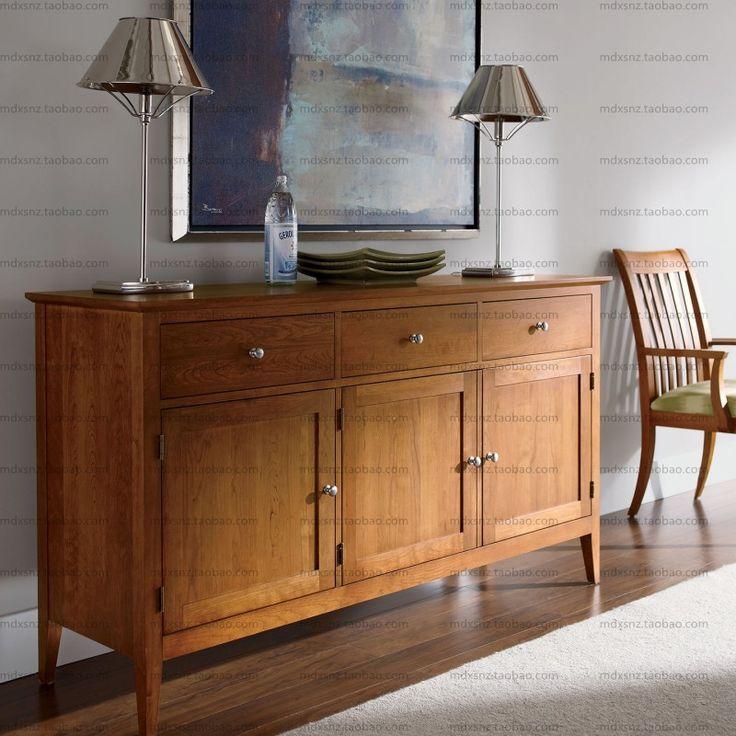 Markor customize IKEA furniture modern minimalist Scandinavian American wood Sideboard Sideboard Modern02