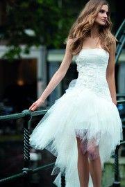 Korte trouwjurk 2016 - Assepoester Feestkleding