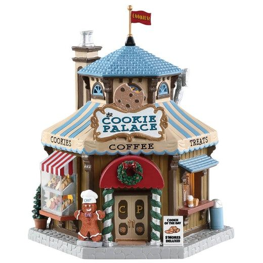 Lemax Christmas Village Michaels.Lemax The Cookie Palace Sku 85363 Released In 2018 As A