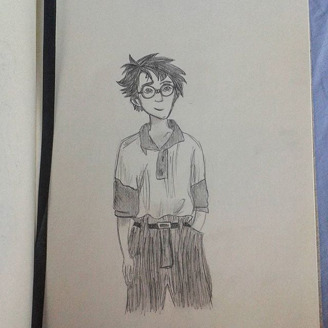 ▪ Another Harry Potter sketch ▪  @artfullymaya