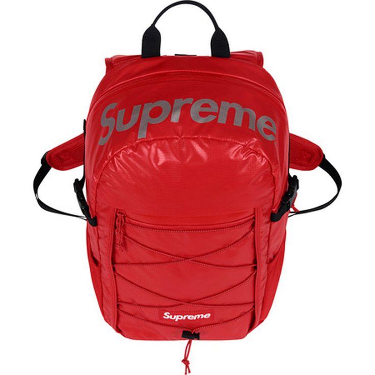 Supreme Backpack 20l 100% Original FW-Drop 2017 Tasche Rucksack Rot Box logo