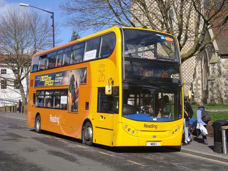 Reading Buses, Electric hybrid Alexander Dennis Enviro 400