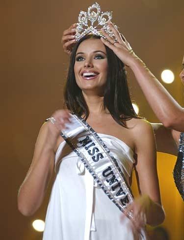 My Favorite MU. Oxana Fedorova- Miss Universe 2002.