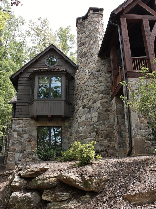 Rustic Lakehouse   Traditional   Exterior   Other Metro   Wright Design