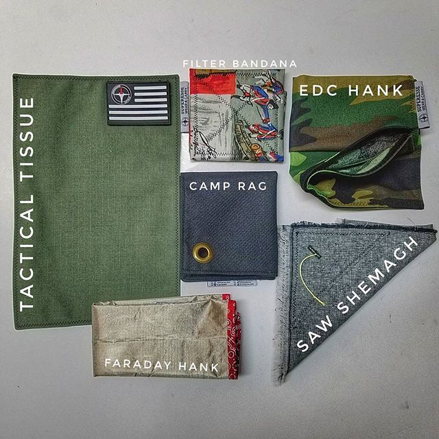 Superesse Hanks. Our Hanks are designed with functionality. Patterns and colors are cool but what if your Hank was more than just a piece of pretty cloth?  Handkerchiefs built from materials thatfilter water, defend from EMPs, and are burn proof.  Hanks outfitted with the capability to store EDC gear in a storage pouch, attach a morale patch, conceal SERE supplies within a covert pocket, or saw thru wood.  Shop #Hanks now at superessestraps.com #handkerchiefs #edchanks #pockethanks…