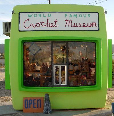 The Desert Sun (@mydesert) shared an article about the World Famous Crochet Museum