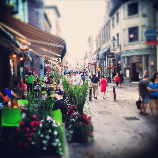 Old Montreal - Photo @christa_belle Instagram