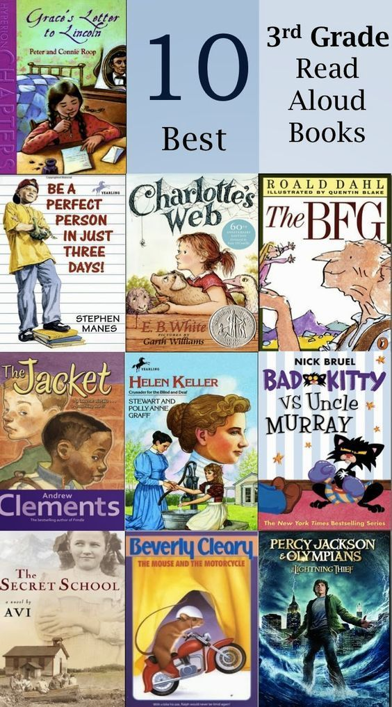 Another cool link is lgmsports.com  Inspiration for Education: 10 Best Read Alouds for 3rd Grade
