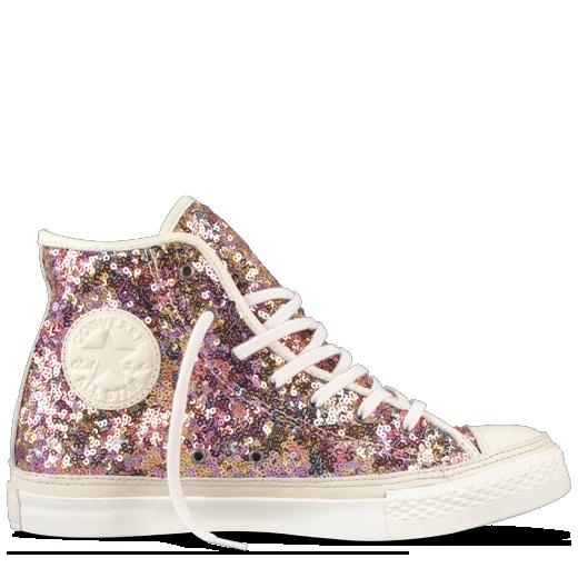Converse - All Star Premium Sequins - Hi - Gold/Multi