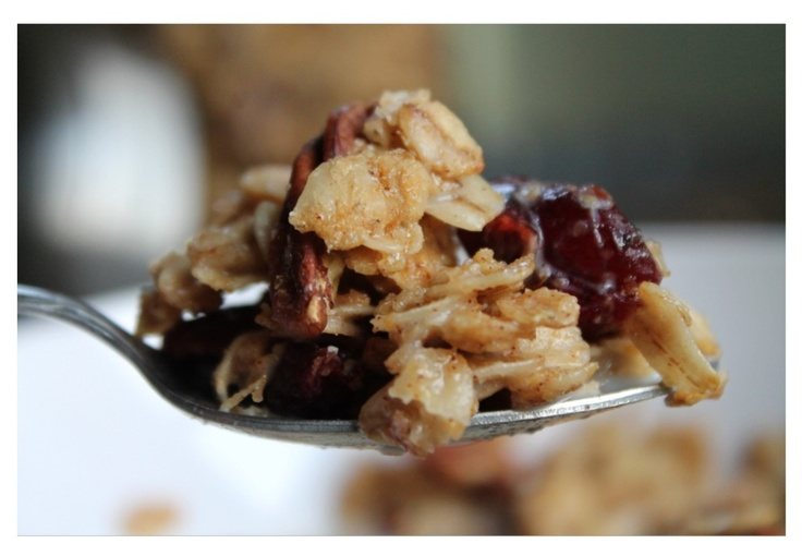 Maple Pecan Granola | Side Dishes | Pinterest