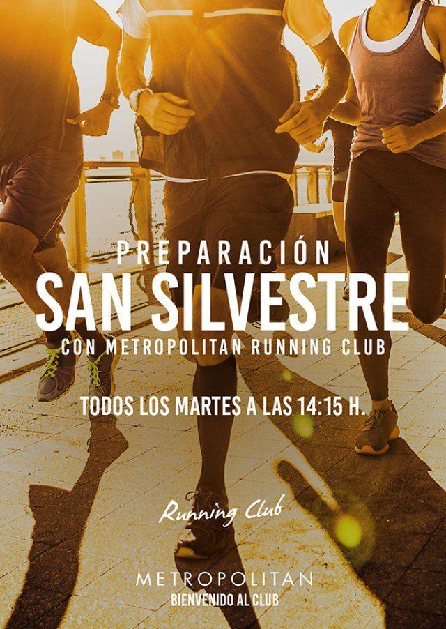 Prepara la San Silvestre el Running Club de Metropolitan Abascal. ¡Os esperamos todos los Martes a las 14:15 h.!