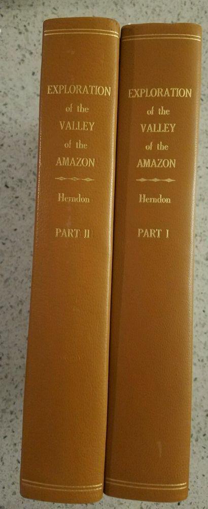 AMAZON PLANTATION SLAVERY FREING SLAVES 1854 2vols FIRST WAR   Books, Nonfiction   eBay!