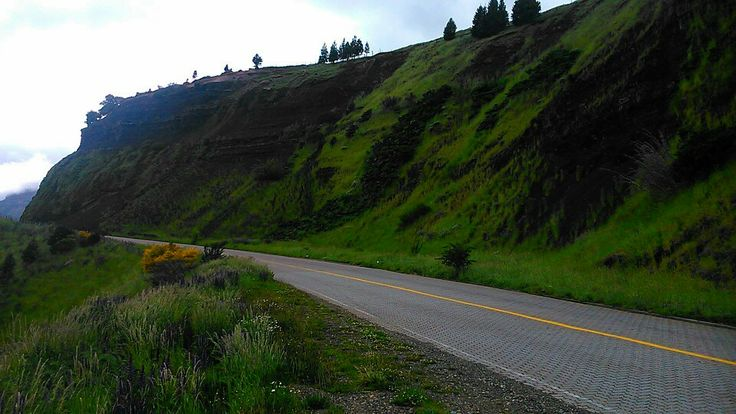 Carretera camino a Coyhaique