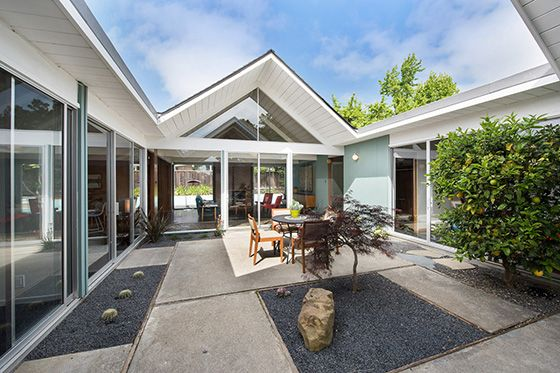 5890 greenridge atrium eichler color palettes pinterest for Terrace color combination