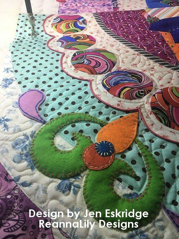 San Antonio Quilt Guild Challenge Quilt 2019 Entry By Jen Eskridge Hand Applique Quilts Small Quilts