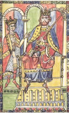 Federico II di Svevia - Incoronazione di Enrico VI