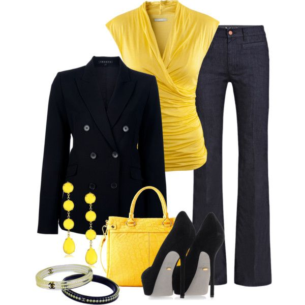 Love the yellow.