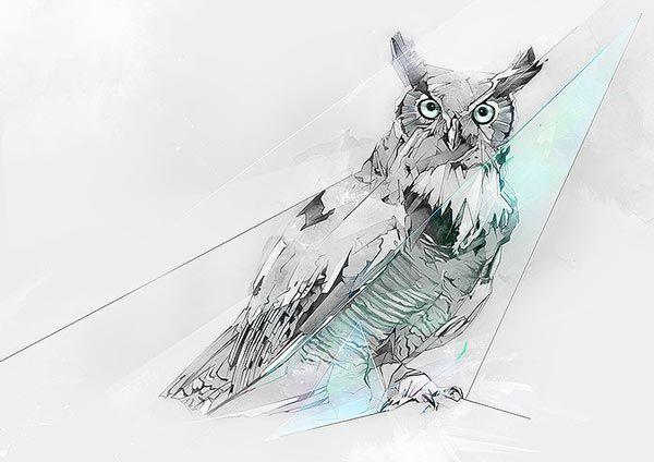 Alexis Marcou est un illustrateur que j'admire beaucoup, j'adore son travail et j'adore sa technique de dessin qui le distingue des autres. Sur chaque illustration qu'il réalise on reconnait son travail, ce qu'il réalise avec les traits obliques, des triangles, des mélanges de couleurs, etc... br…