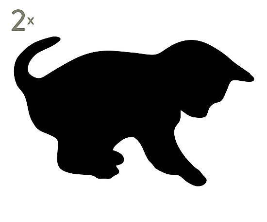 Las 25 mejores ideas sobre dibujo de gato en pinterest - Dibujos de vinilo para paredes ...
