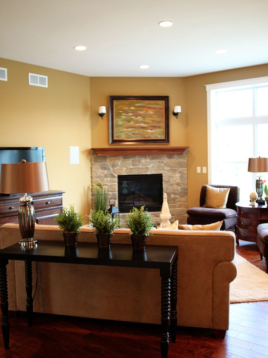 67 Best Images About Angled Fireplace On Pinterest