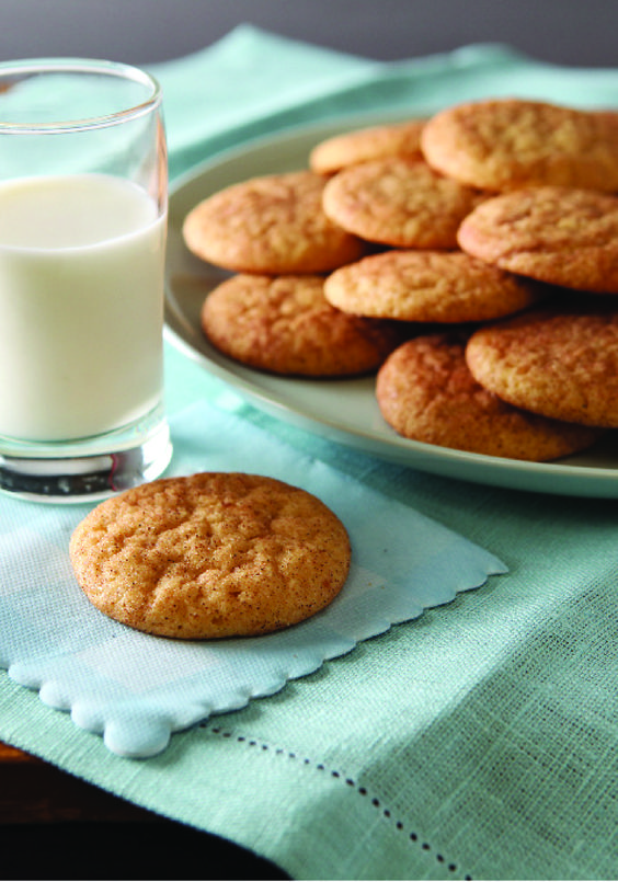 Vanilla Snickerdoodle Cookies – Fill the kitchen with the aroma of freshly baked sugar cookies! These snickerdoodles are made with pudding for a richer, more tender cookie experience.
