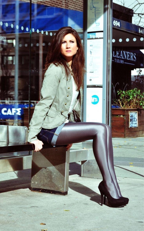 Her Dark Pantyhose Dressed 57