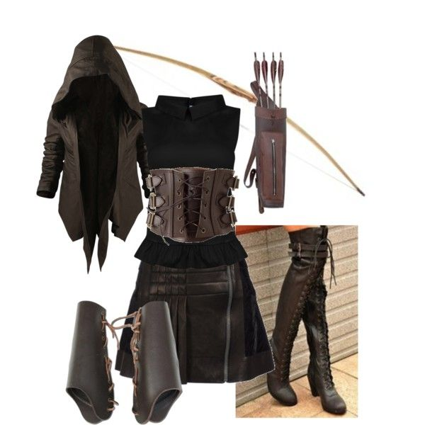 """""""Shadow Hunter Gear"""" by meagan-wymbs on Polyvore"""