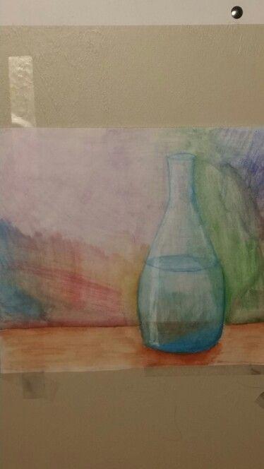 Water color pencil attempt #1