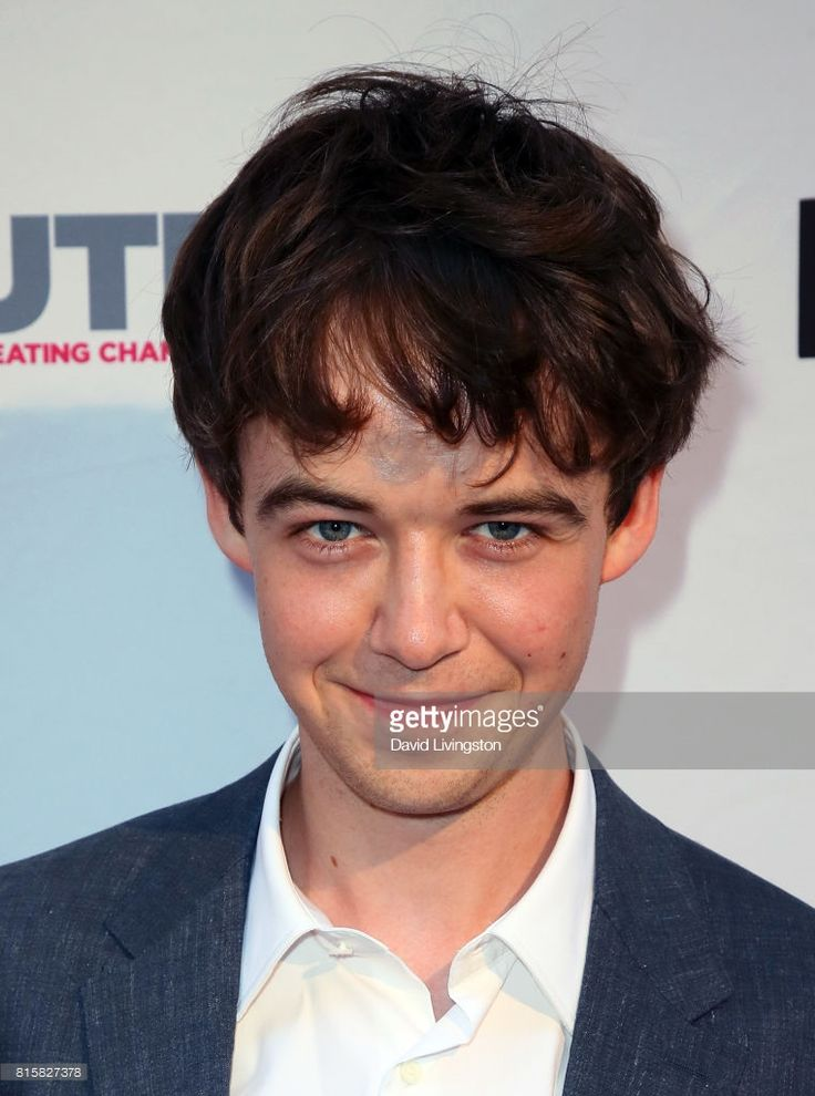 Actor Alex Lawther attends the 2017 Outfest Los Angeles LGBT Film Festival closing night gala screening of 'Freak Show' at The Theatre at Ace Hotel on July 16, 2017 in Los Angeles, California.