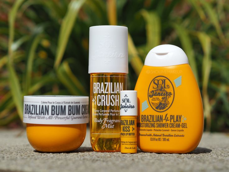 Sol De Janeiro Brazilian Line of Products are fantastic. These products work wonders and smell out of this world!