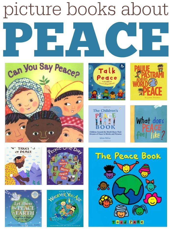 Picture books about peace, perfect for most any holiday but especially for…