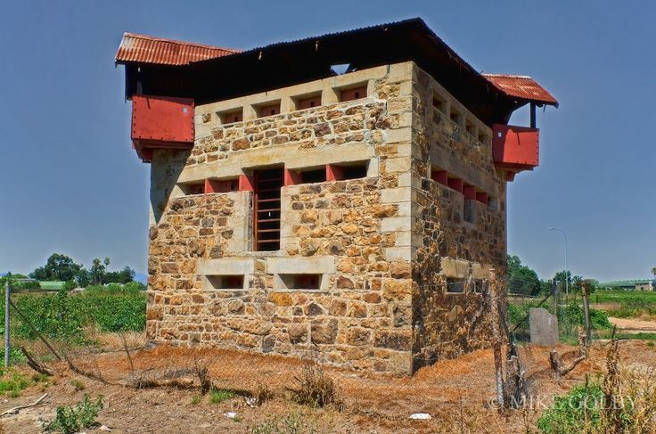 Three-tier Anglo-Boer War Blockhouse