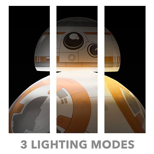BB-8 Desktop Lamp Shines The Lighter Side Of The Force On Your Desk -  #BB8 #lamp #starwars