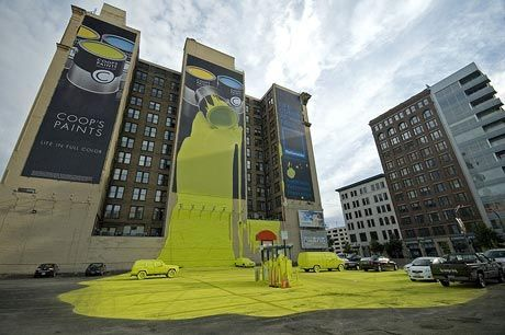 Wallscapes and Building Wraps - Large and Wide Format Printing #wallscapes #building_wraps
