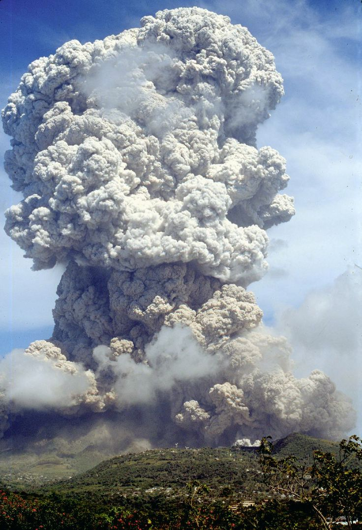 Soufriere Hills volcano, in Montserrat, erupting.  Whilst attempting a PhD with the University if Southampton and Natural History Museum of London, I had samples of erupted rock from this eruption, to analyse feldspars, their zoning and inclusions, to study magma/ magma chamber evolution.