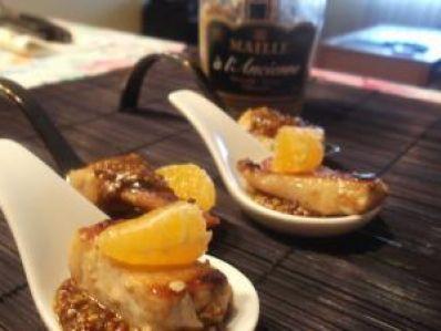 Receta   Secreto ibérico 3m (mostaza, mandarina y miel) http://canalcocina.es/receta/secreto-iberico-3m-mostaza-mandarina-y-miel-1 canalcocina.es