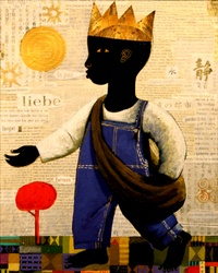 """Skip Hill """"The Dream Sower"""" by Skip Hill I absolutely love that painting by Hill. https://www.facebook.com/pages/Skip-Hill-Art/244830355562291"""