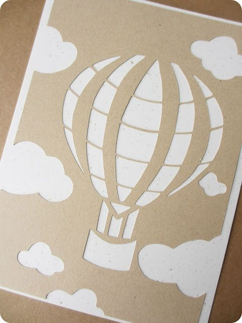 Les 25 meilleures id es de la cat gorie bapteme montgolfiere sur pinterest mongolfiere - Montgolfiere en papier ...