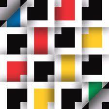 Resultado de imagen para cuadros geometricos en amarillo