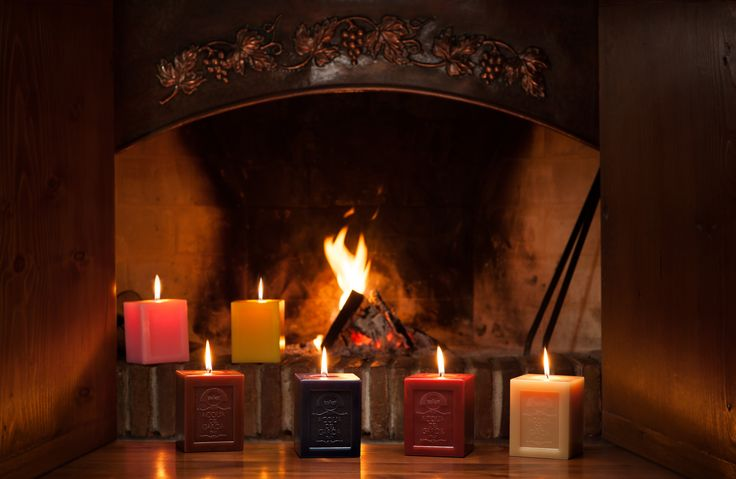 Our collection of scented candles 1 KG - Acqua del Garda