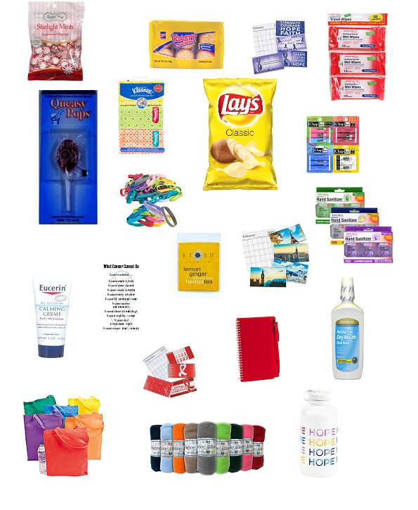 Good idea for philanthropy - This deluxe chemotherapy gift bag is jam-packed full of essential items that…