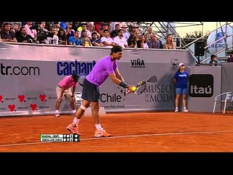 Nadal vs Zeballos - Viña del Mar (VTR Open) 2013 -Part2 Full Match