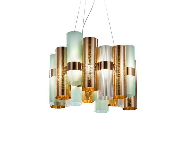 La Lollo chandelier by Slamp