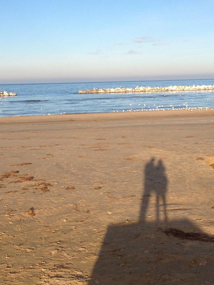 Love winter Sea