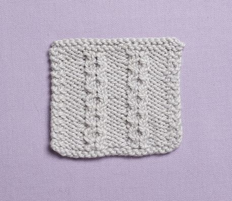 how to learn knitting stitches