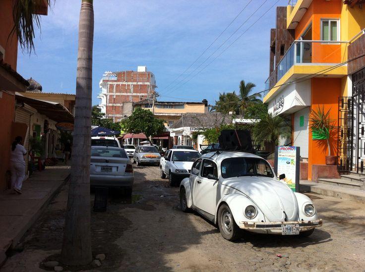 Streets of Bucerias, Jalisco, Mexico