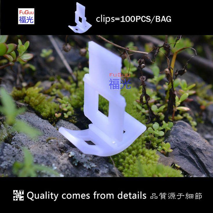 Sistem leveling ubin 1.5mm klip 100 pcs/bags FG-1