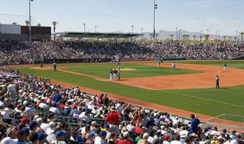 Goodyear Park - home of the Cincinnati Reds spring training